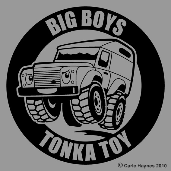 Big Boys Tonka Toy